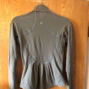 Vintage rare LULULEMON peplum back jacket S
